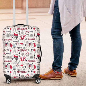 HORSES LUGGAGE COVER
