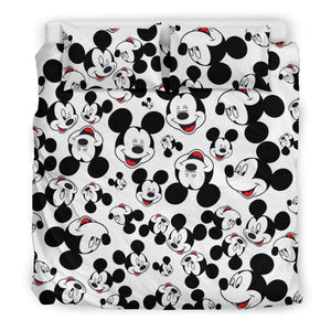 Q. FACES OF MICKEY bedding set