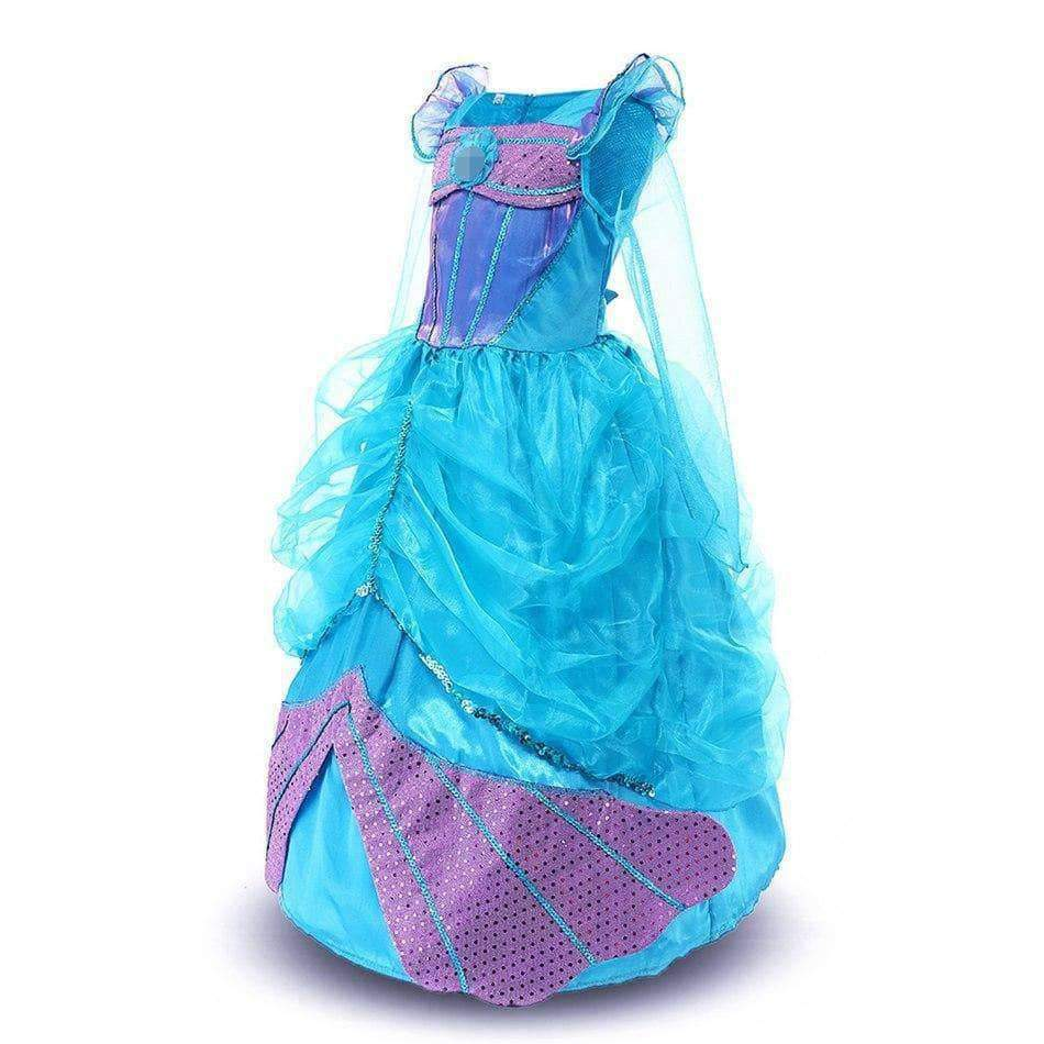 Little Girls Mermaid Cosplay Costume Halloween