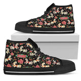 HORSE AND FLORAL - SHOES [ Express Shipping included ]