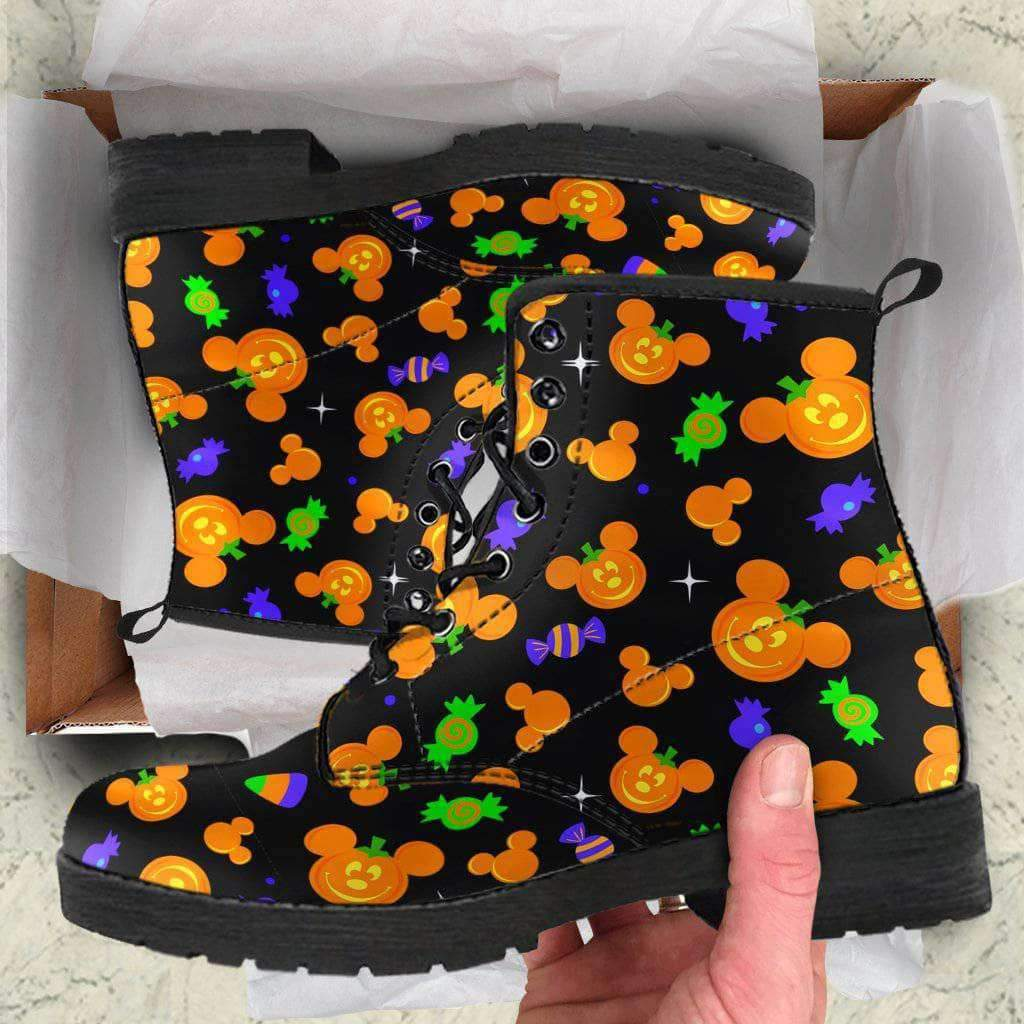 HALLOWEEN - WOMEN'S LEATHER BOOT