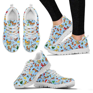 CHRISTMAS HORSE - WOMEN'S SNEAKERS - LT