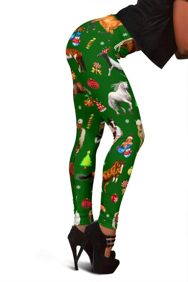 Christmas Horse Leggings - LT