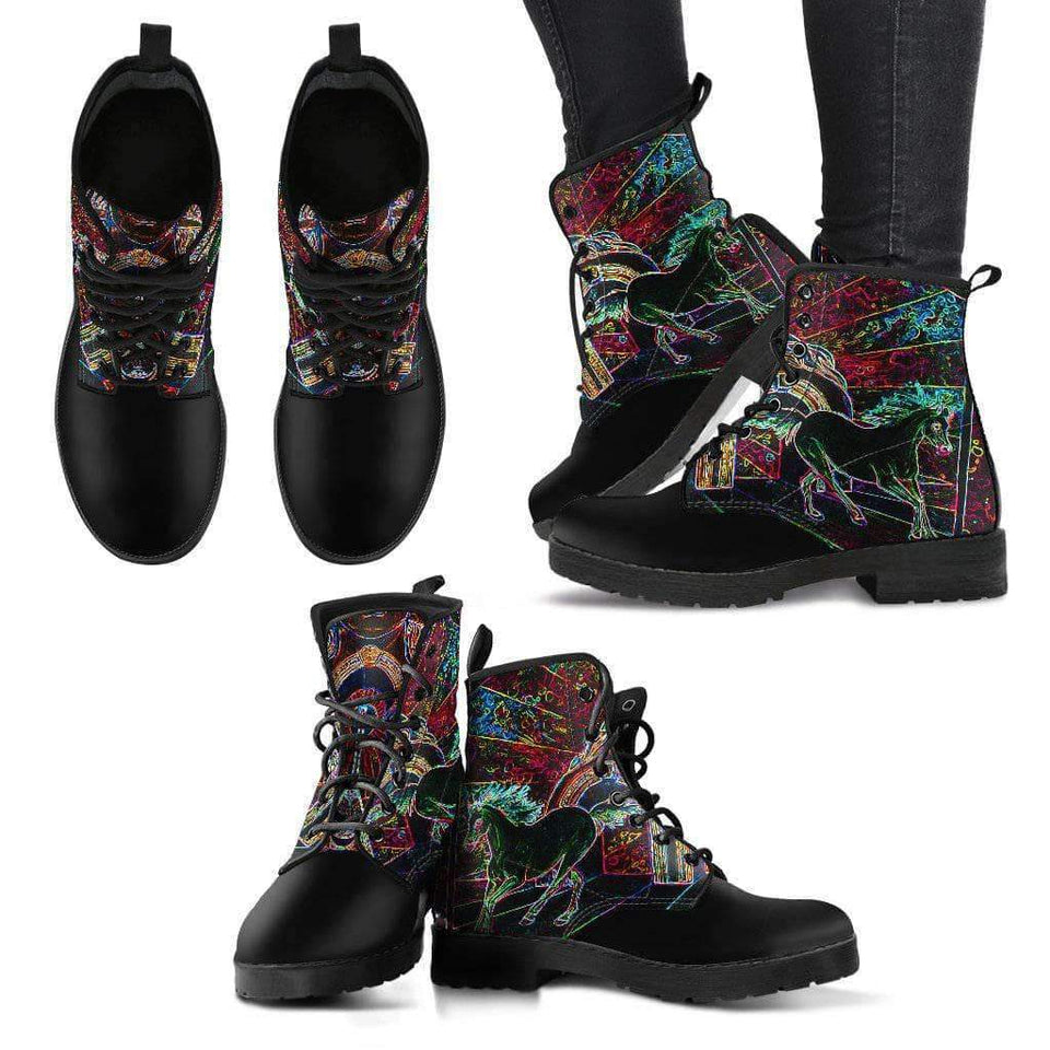Electric Horses - Women's Leather Boots