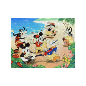 Mickey Happy Rectangle Jigsaw Puzzle (Set of 110 Pieces)