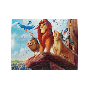 Lion King Rectangle Jigsaw Puzzle (Set of 110 Pieces)