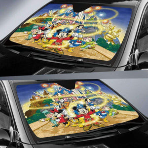 Mickey Mouse Disney's Fantasia - Auto Sun Shade