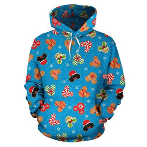 Q. COOKIE 5 - ALL OVER HOODIE