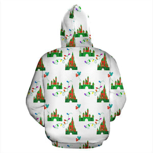 Q. CHRISTMAS 1 - ZIP-UP HOODIE