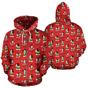 Q. CHRISTMAS 4 - ZIP-UP HOODIE