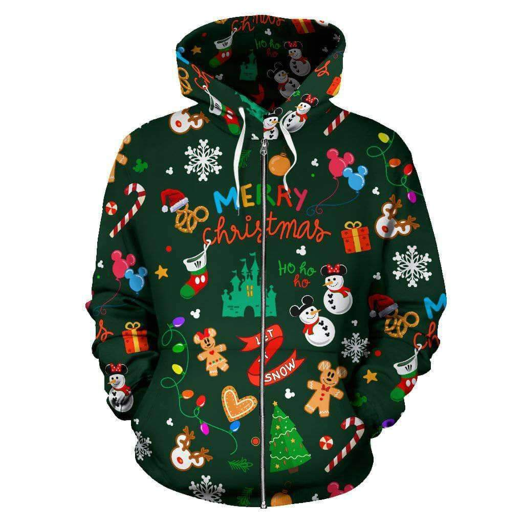 Q. CHRISTMAS 12 - ZIP-UP HOODIE