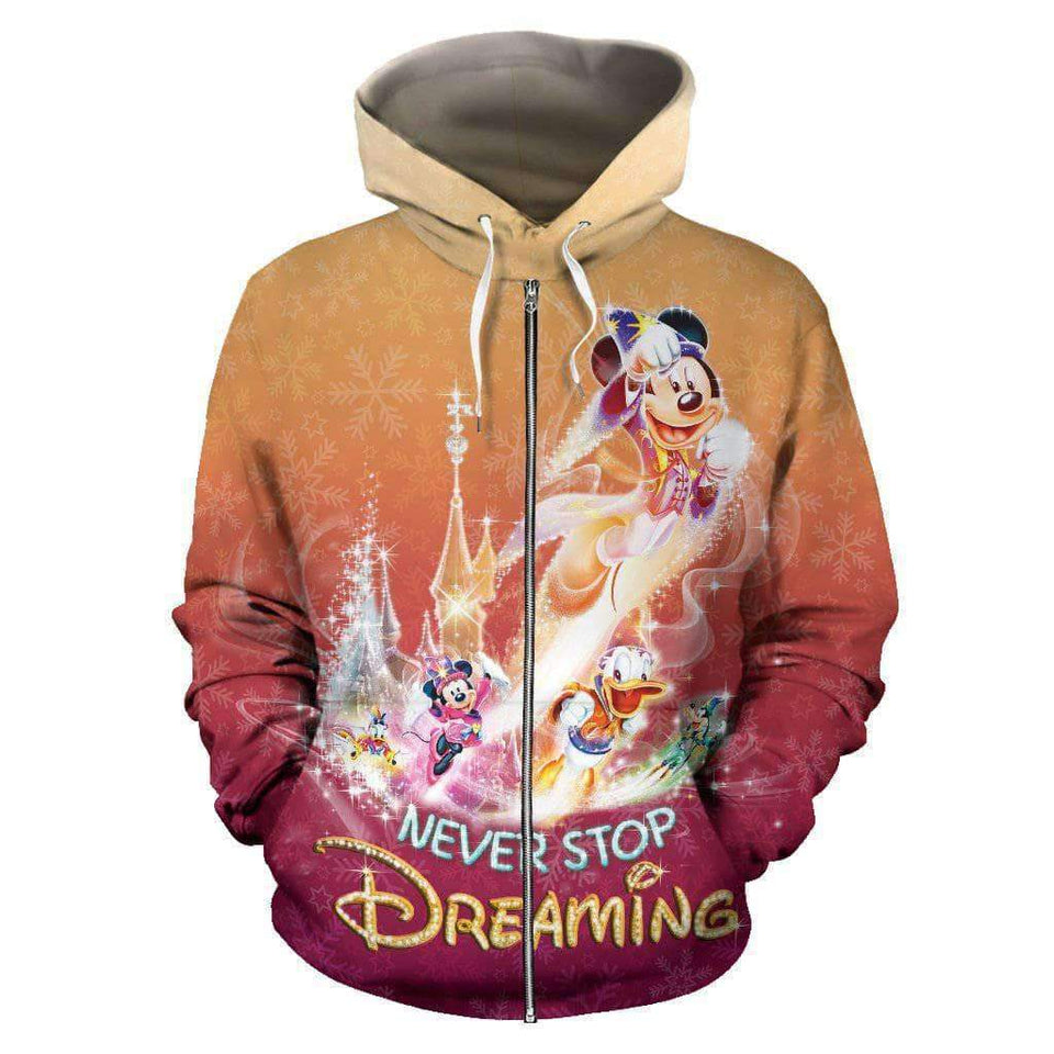 Mickey And Friends - Zip-up Hoodie