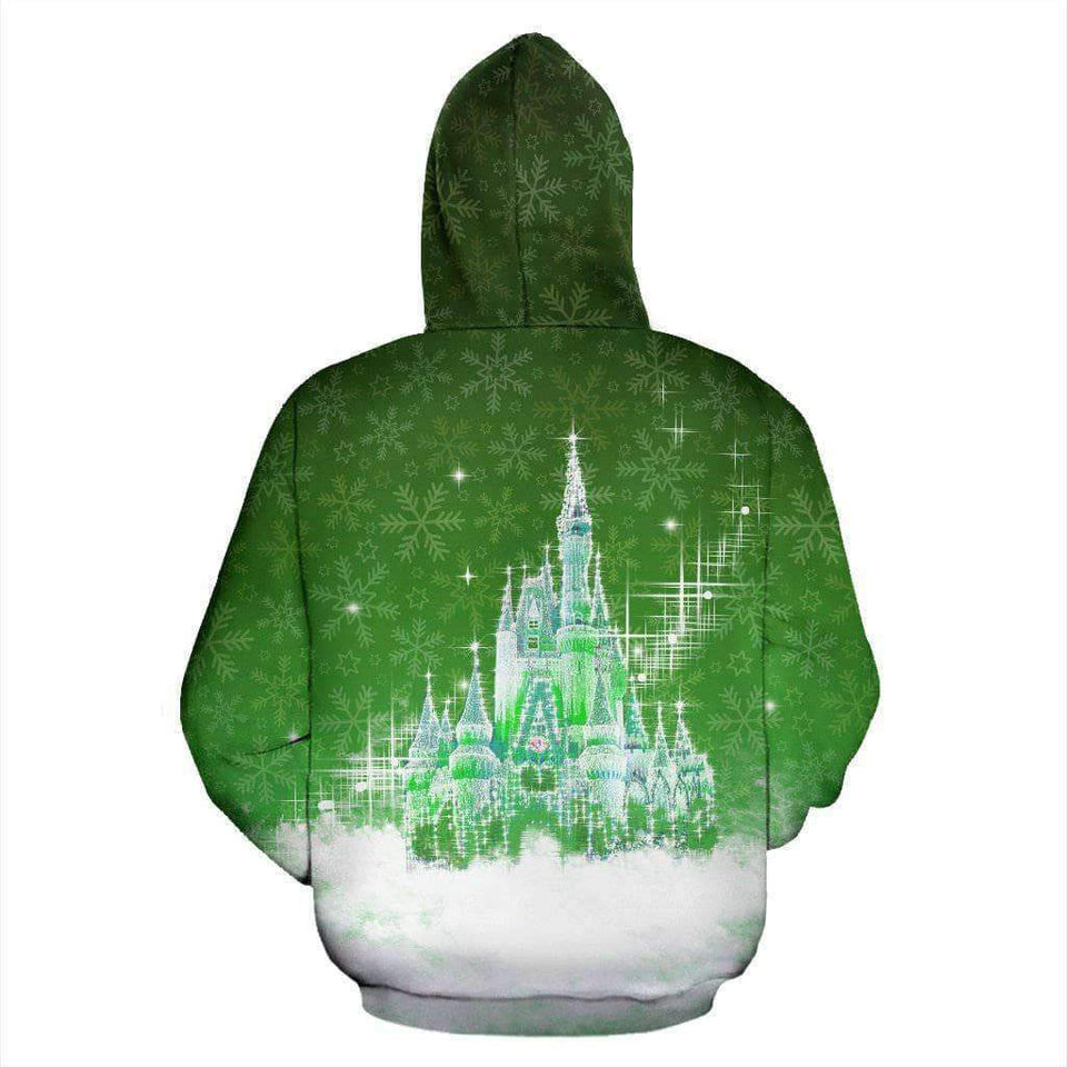 Ho Ho Ho - Green Zip-up Hoodie