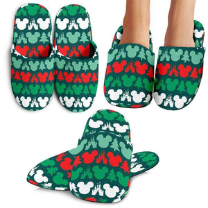 Q. MICKEY CHRISTMAS - SLIPPERS