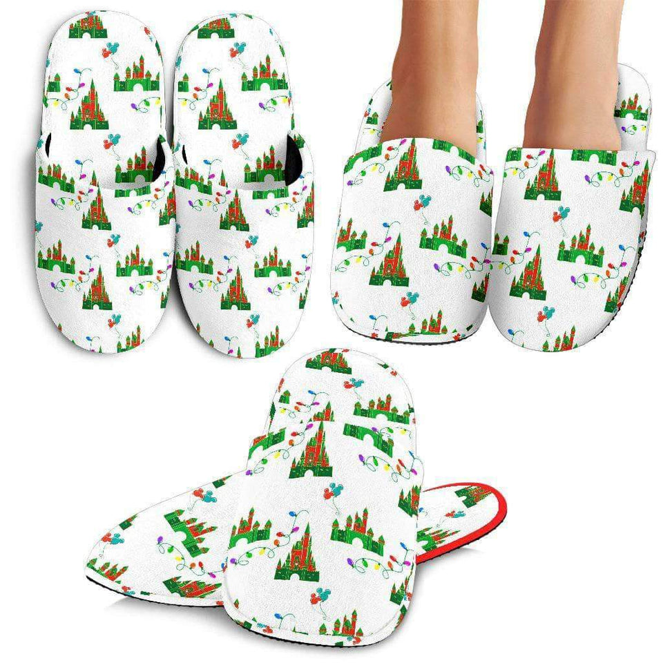 Q. MICKEY CHRISTMAS 6 - SLIPPERS