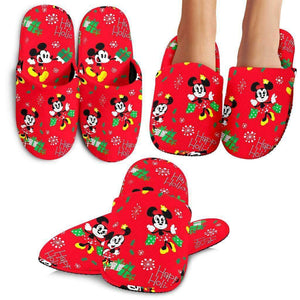Q. MICKEY CHRISTMAS 11 - SLIPPERS