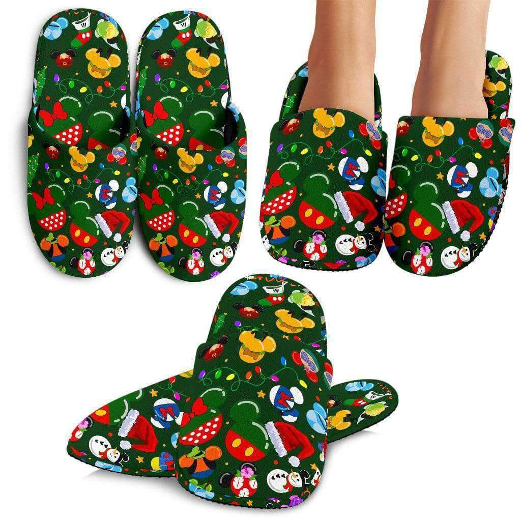 Q. MICKEY CHRISTMAS 13 - SLIPPERS