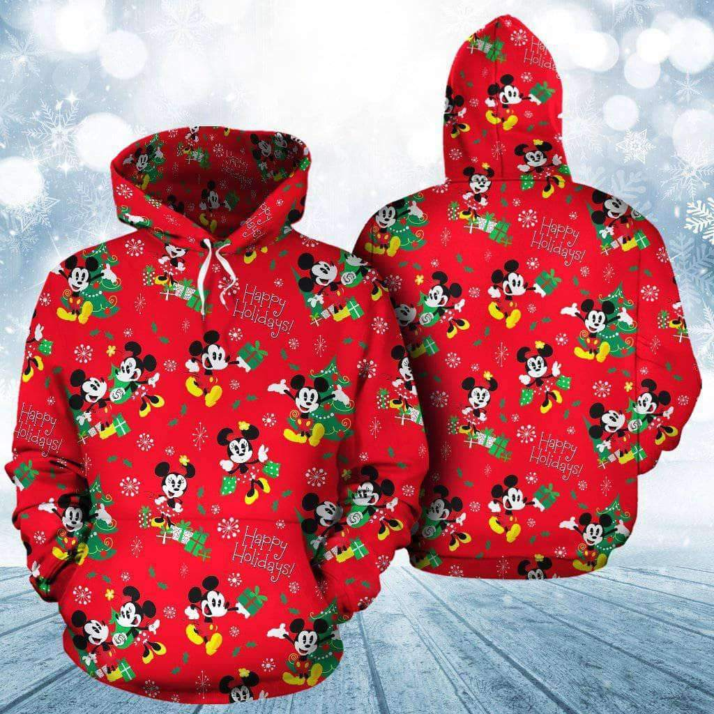 Q. 06. CHRISTMAS - ALL OVER HOODIE