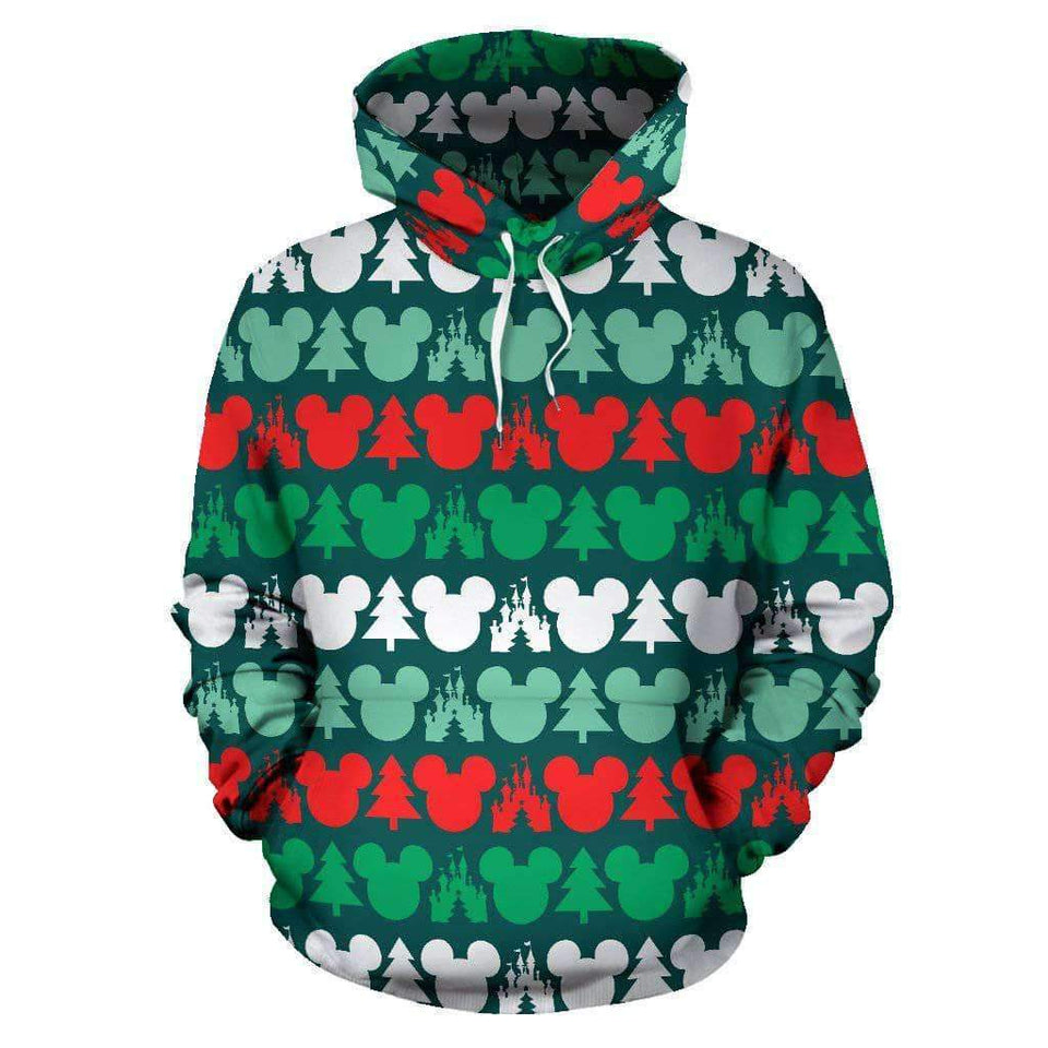 Q. DISNEY CHRISTMAS - ALL OVER HOODIE