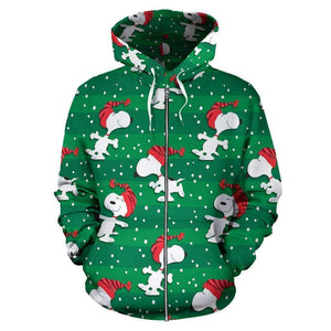 Mickey Mouse Christmas - Zip-up Hoodie