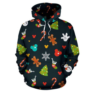 Q. CHRISTMAS - ALL OVER HOODIE