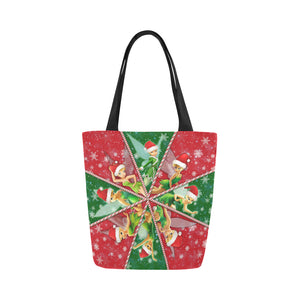 Tinker Bell Christmas Canvas Tote Bag (Model 1657)