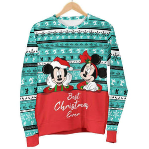 Mickey And Minnie - Women's Sweater
