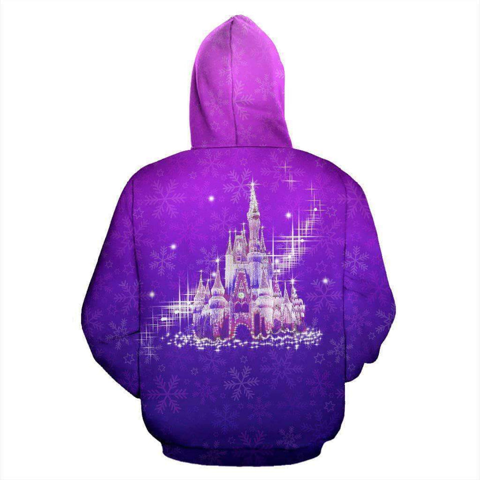Mickey Mouse Face - Purple - Hoodie