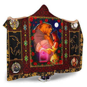 Beauty And The Beast - Hooded Blanket