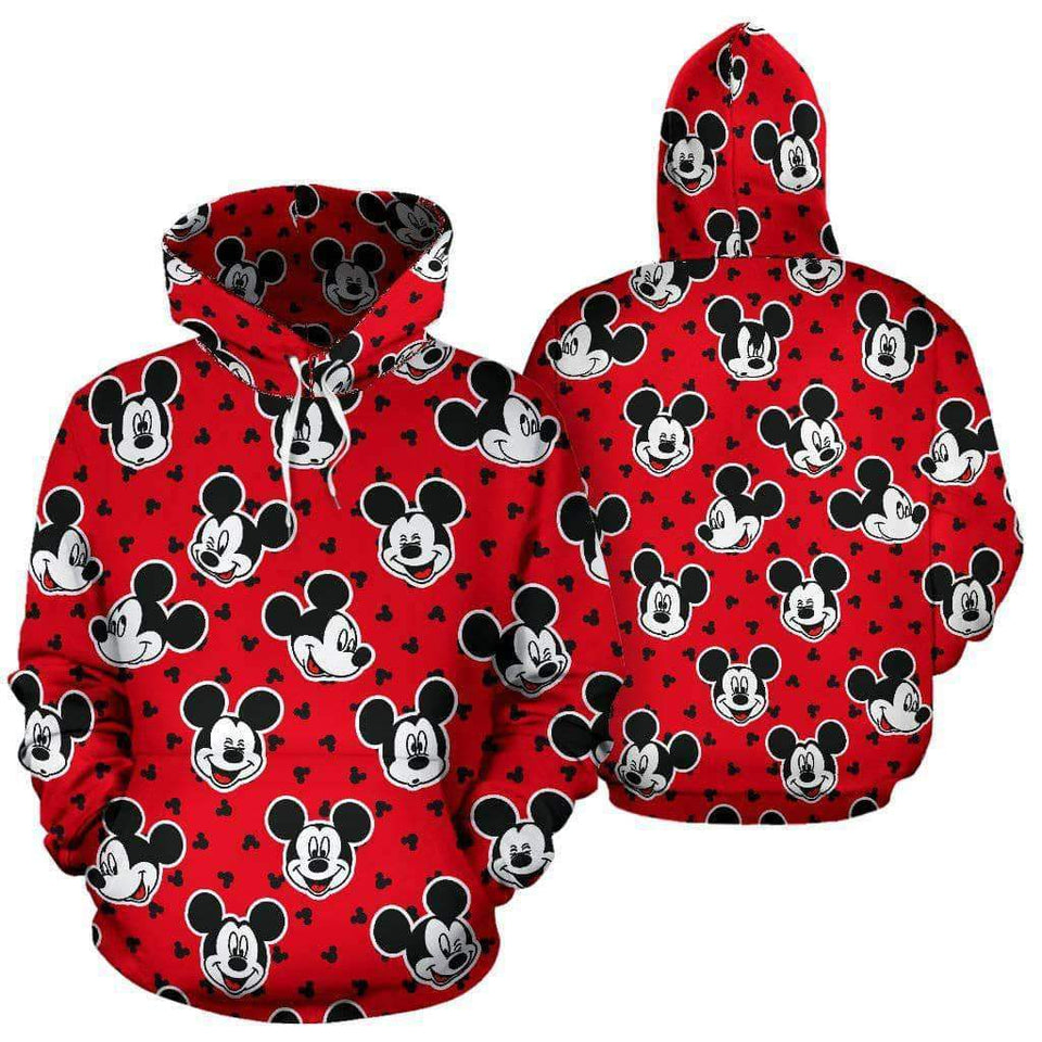 Mickey Fashion All over Hoodie