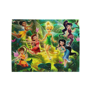 Tinkerbell Disney Rectangle Jigsaw Puzzle (Set of 110 Pieces)