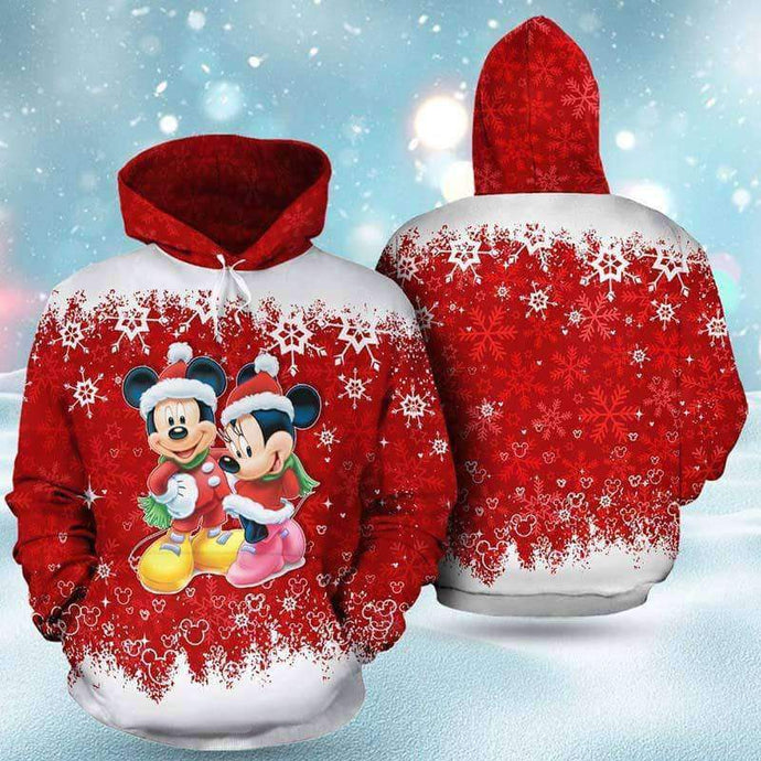 Mickey And Minnie - Hoodie