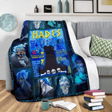 Lord of the Dead - Hades - Premium Blanket