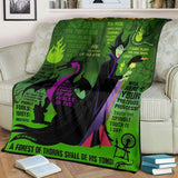 The Mistress of All Evil - Premium Blanket