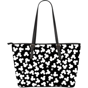 MICKEY MOUSE - Large Leather Tote Bag
