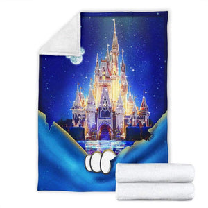 DISNEY CASTLE - Premium Blanket