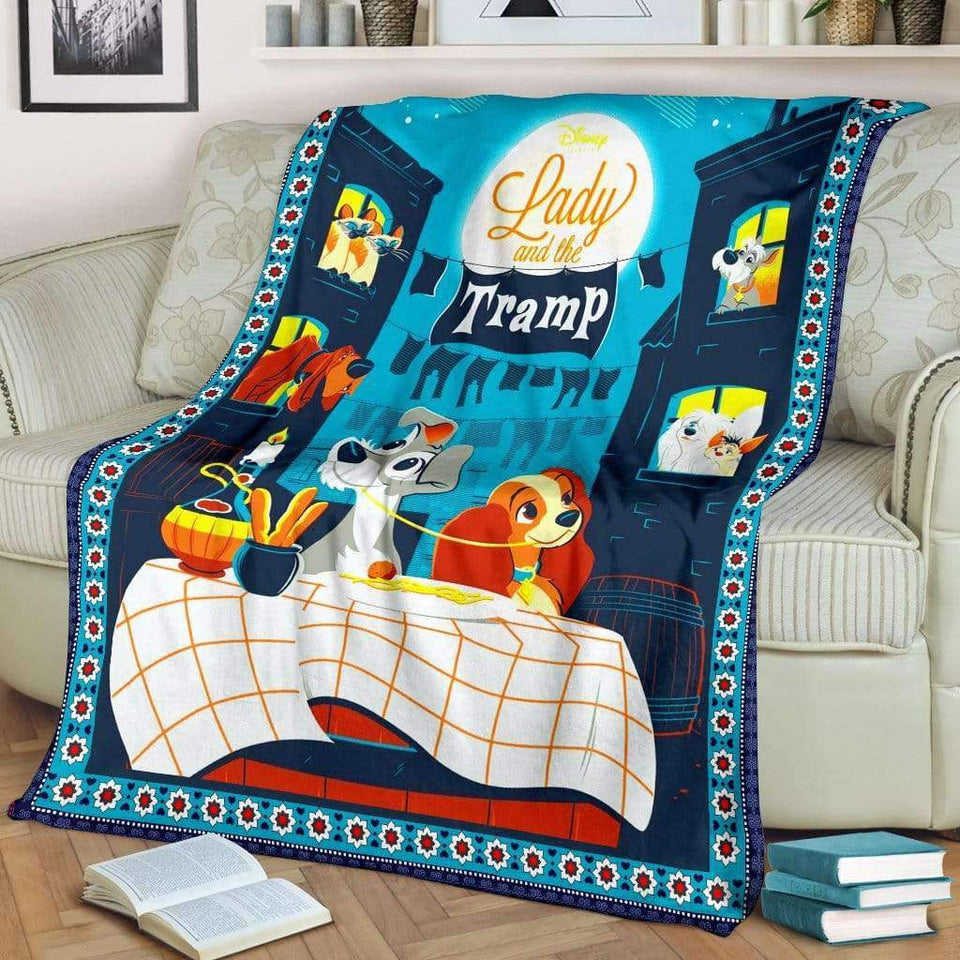 LADY & THE TRAMP. - Premium Blanket