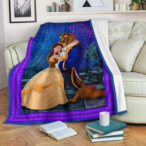 -Beauty and the Beast Blanket
