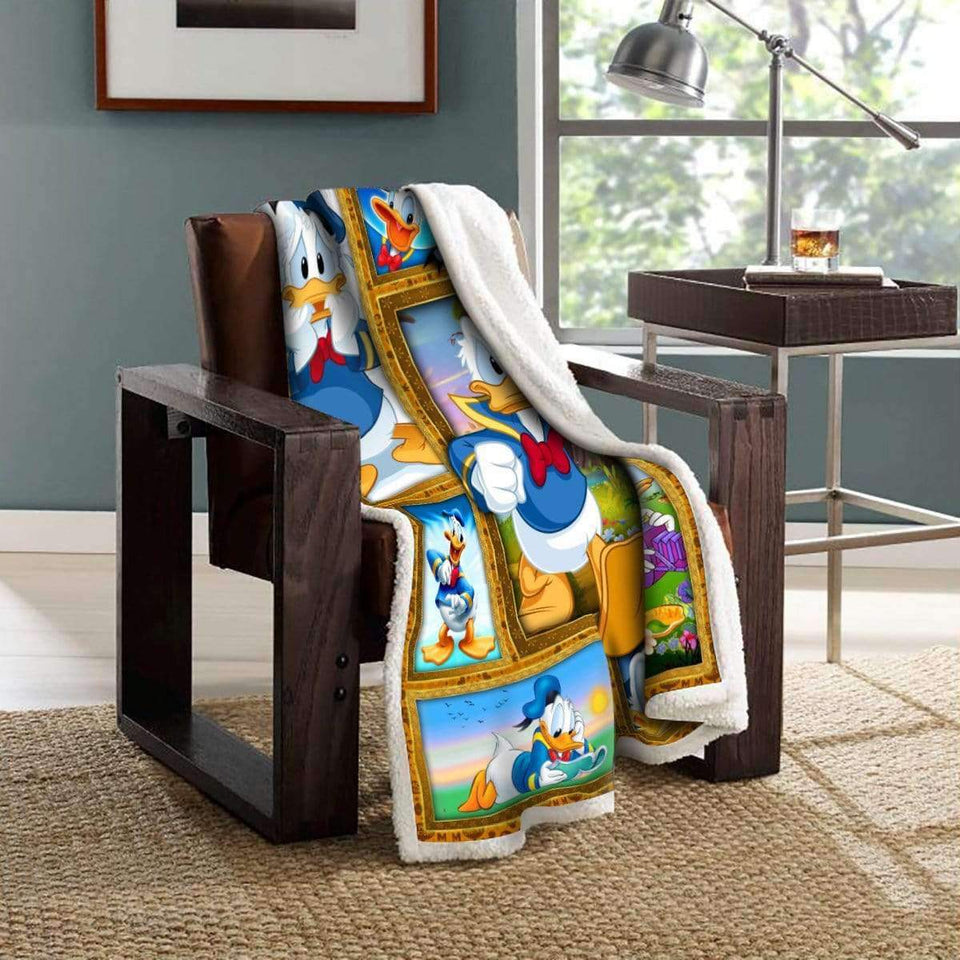 Dn Duck - Fleece Blanket