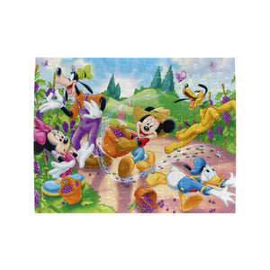 Mk and friends Rectangle Jigsaw Puzzle (Set of 110 Pieces)