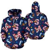 -Paw Patrol All Over Hoodie v9