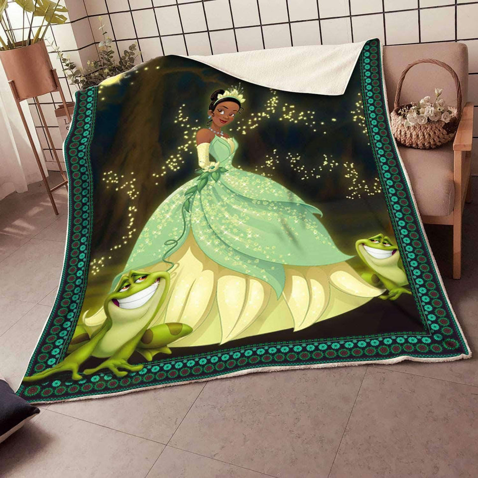 -The Princess and the Frog v1 Blanket