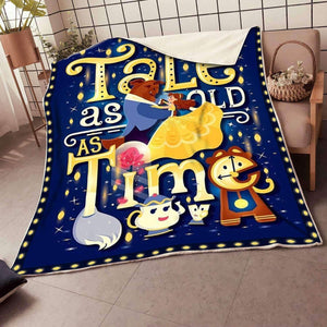 Beauty And The Beast - Blanket