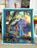 -The Princess and The Frog v3 Blanket