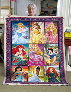 -Disney Princessesv1 Blanket
