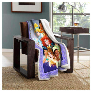 -Disney Princessesv2 Blanket