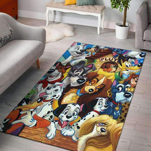 DN Dogs Area Rug