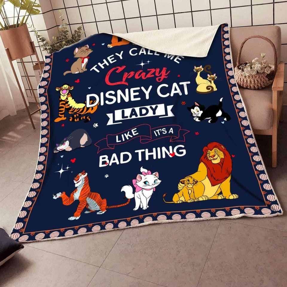 DISNEY CAT LADY