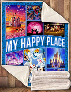 -My Happy Place Blanket