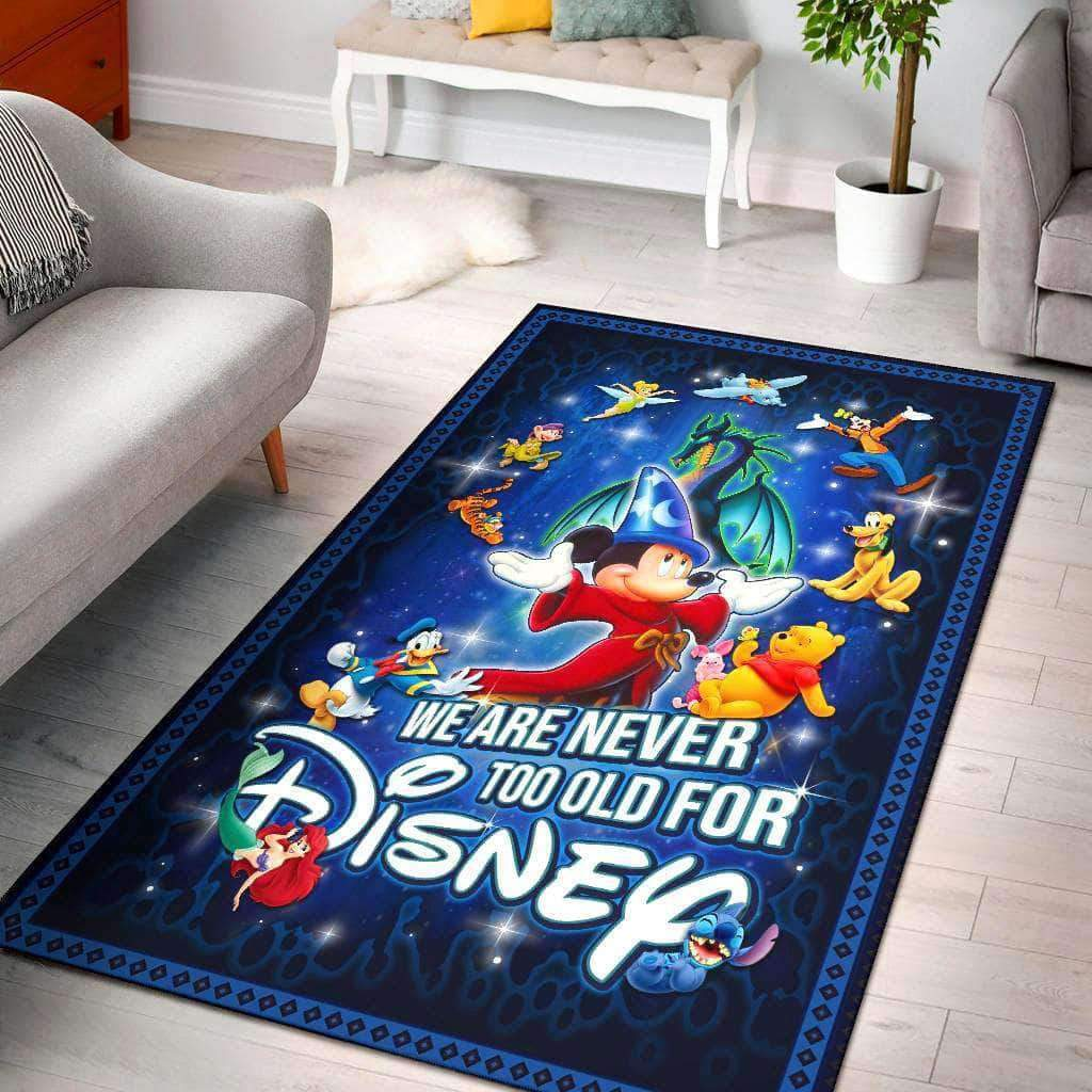WE ARE NEVER TOO OLD FOR DISNEY - Area rug